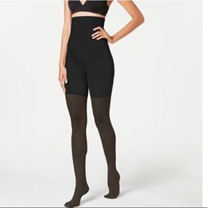 SPANX Black Shaping Tights Size B